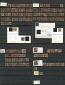 Danemark - 1851-54 Collection de 4 RBS