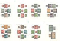 Dinamarca - Colección grabados 1933-54