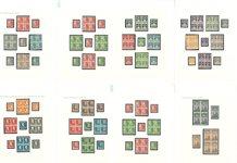 Danemark - Collection gravée 1933-54