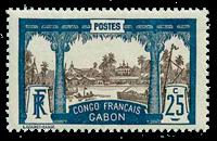 Gabon - YT 39 postfrisk
