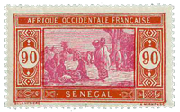 Senegal - YT 106 postfrisk