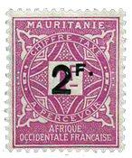 Maurétanie - YT 25 taxe