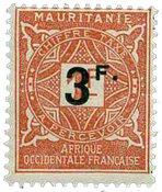 Maurétanie - YT 26 taxe