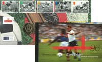 Great Britain - Football - Numiscover and prestige booklet