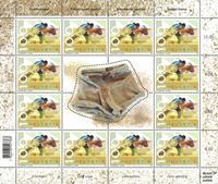 Schweiz - Brydning - Postfrisk ark