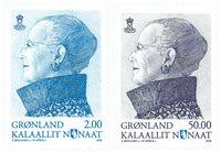 Groenland - Timbres d'usage courant 2016 - Série neuve 2v