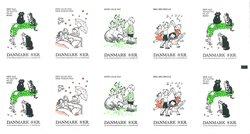 Danemark - Chansons d'enfants - Carnet neuf