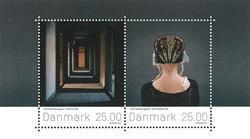 Danmark - Fotokunst - Postfrisk miniark