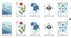 Danmark - Porcelæn - Postfrisk hæfte