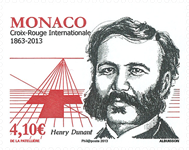 Monaco - 150 ann. Croix Rouge - Timbre neuf