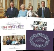 England - Dronning Elizabeth 90 år - Souvenirmappe