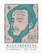 Hongrie - Széchenyi István - Timbre neuf