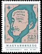 Ungarn - Széchenyi István - Postfrisk frimærke
