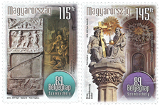 Hongrie - Journée du Timbre - Série neuve 2v