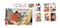 法国邮票 法国红十字会 小本票 外国邮票 邮票收藏 新邮