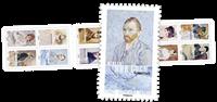 法国新邮, 著名画家人物画像, 小本票