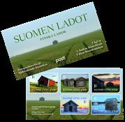 Finland - Finske lader - Postfrisk frim.hæfte