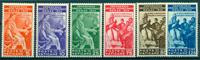Vaticano 1935 - Congresso Giuridico Int.le - serie  6 val. nuovi ling.