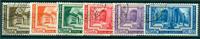 Vaticano 1938 - Congresso Int. Archeologia - serie  6 val. usati