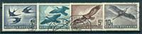 Austria 1953 - Posta aerea  - serie 4 val. usati