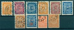 Bulgarien - Porto - 1884-1904