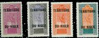 Niger - YT 25-28 postfrisk