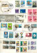 FN - Pakke med 100 førstedagskuverter