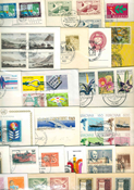 Various countries - 100 first day covers