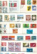 Zwitserland - pakket met 100 eerstedagenveloppen