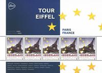 Holland - Europas hovedstæder - Paris - Postfrisk miniark