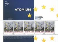 Holland - Europas hovedstæder - Bruxelles - Postfrisk miniark