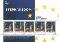 Holland - Europas hovedstæder - Wien - Postfrisk miniark