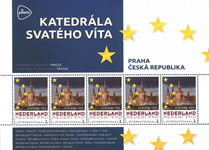 Netherlands - Europa's capitals: Prague - Mint souvenir sheet
