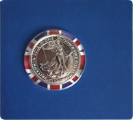 Britannia Bullion coin 2012 - One Ounce silver