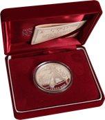 Korea.VM 2002 sølvmønt. Daegu stadion