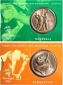 JO 2000 Sydney en bronze Handball / Gymnastique