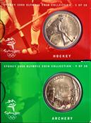 Olympische Spelen 2000 - Bronzen munt Boogschieten  / Hockey
