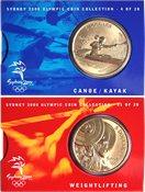 JO 2000 Sydney en bronze Weightlifting/canoeing