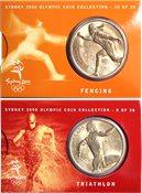JO 2000 Sydney en bronze Triathalon/fencing