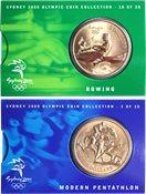 JO 2000 Sydney en bronze Rowing/Pentathalon