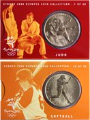 OL 2000 Bronzemønt-kollektion Judo/softball
