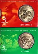 Olympische Spelen 2000 - Bronzen munt Paardrijden/Fietsen