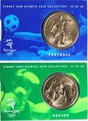 JO 2000 Sydney en bronze Boxing/football