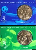 Olympische Spelen 2000 - Bronzen munt Voetbal /Boksen