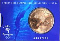 JO 2000 Sydney en bronze Aquatics