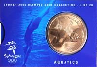 Olympische Spelen 2000 - Bronzen munt Zwemmen