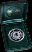 Olympische Spelen 2000 in Sydney - Zilveren munt droom illustraties