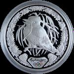 OL 2000 i Sydney - Sølvmønt med latterfugl