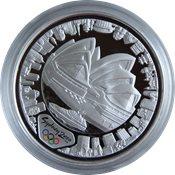 OL 2000 i Sydney - Sølvmønt Harbour of Life (set fra landsiden)