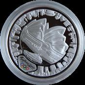 Olympische Spelen 2000 in Sydney - Zilveren munt met *Harbour of Life (Land)*